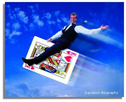 Atlanta Comic Magician Davidson's Biography
